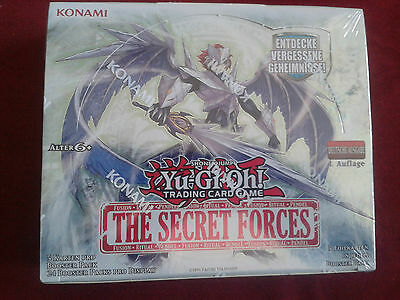 Yu-Gi-Oh The Secret Forces Display (no 1st Edition)