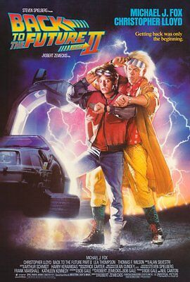 "BACK TO THE FUTURE II Movie Poster [Licensed-NEW-USA] 27x40"" Theater Size (1989)"