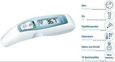 NEU SANITAS SFT65, Multifunktions-Fieberthermometer, Ohr-Stirn - Thermometer
