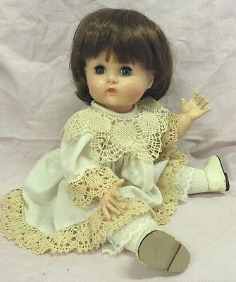 """Vtg 1930's Ideal Doll Baby Doll-Hard Plastic 15"""" Marked 14 """"Betsy Tears"""" Type"""