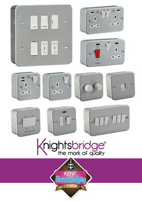 METAL CLAD Electrical Fittings Socket and Switches