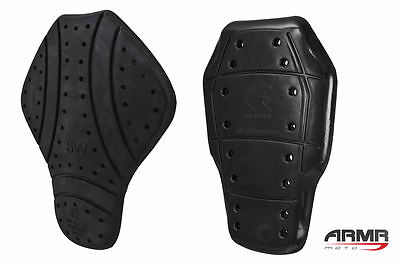 ARMR Moto CE Certified Level 1 or 2 Back Protector Insert For Motorcycle Jacket