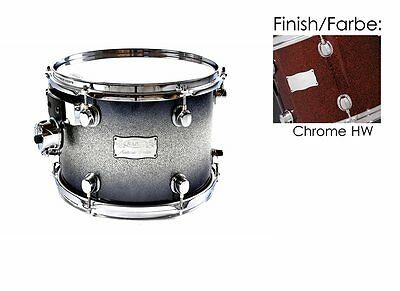 "Mapex Saturn 14""x11"" Tom Tom Black Cherry Sparkle (Chrome Hardware) 74%Reduziert"
