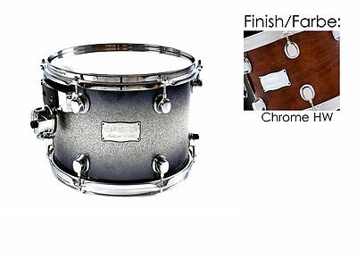 "Mapex Saturn 16""x13"" Tom Tom Transparent Walnut (Chrome Hardware) 65% Reduziert!"