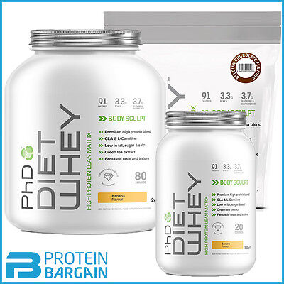 PhD Nutrition Diet Whey Protein 1kg / 2kg Weight Loss Shake!