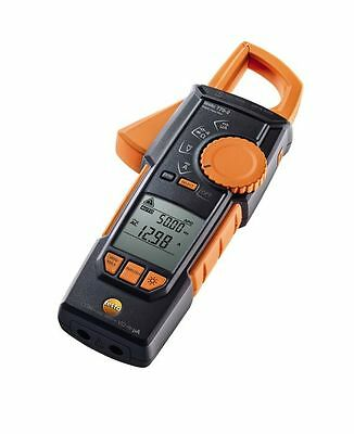 Testo 770-2 Hook-Clamp Digital Multimeter w/ TRMS, Inrush, Temperature 0590 7702
