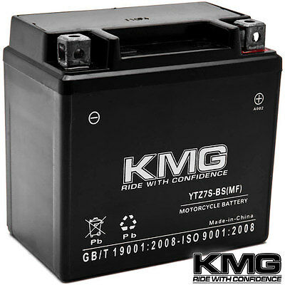 12V Battery KMG Motorcycle Scooter ATV Snowmobile Mowers PWC Watercraft YTZ7S