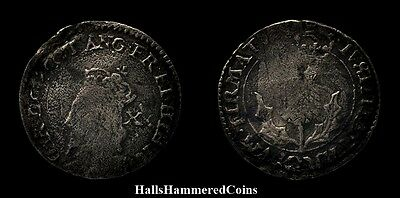 Charles I 20 Pence - Scottish Coin (HHC3731)