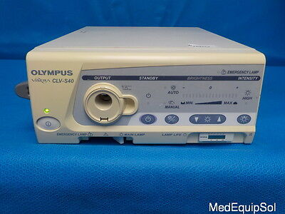 Olympus  CLV-S40 Light Source (No Bulb)