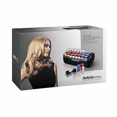 BaByliss Pro Heated Ceramic Roller Set - Pack of 30 Pieces