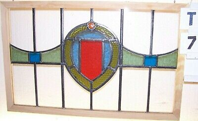 Old Leaed English Stained Glass Window