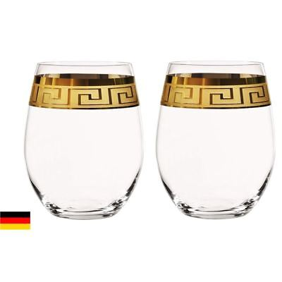 Nachtmann Crystal - Muse Tumbler 230ml Set of 2 (Made in Germany)