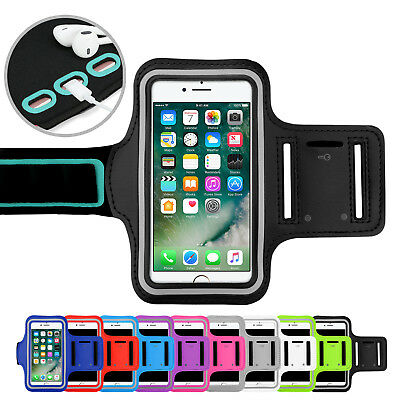 Sports Gym Armband Arm Case Running Exercise Apple iPhone XS Max XR X 8 7 6 Plus