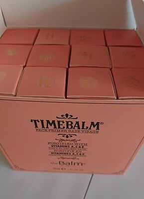 The Balm Face Primer base TIME BALM 30ml Full Size NEW makeup stay put theBalm