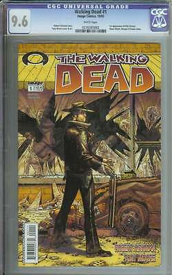 Walking Dead #1 Cgc 9.6 White Pages