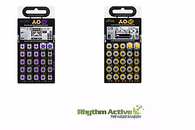Teenage Engineering Pocket Operator Po-20 Arcade+Po-24 Office Synthesizer Bundle