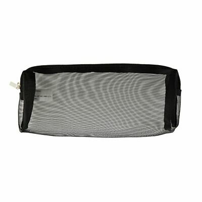 X Mesh Pencil Case Medium Black