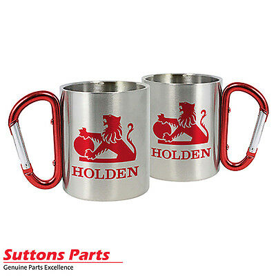 New Authentic Holden Heritage Stainless Steel Mug 300Ml (Each) Part Hol020X