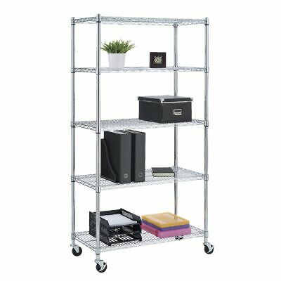 5 Tier Wire Shelving Unit