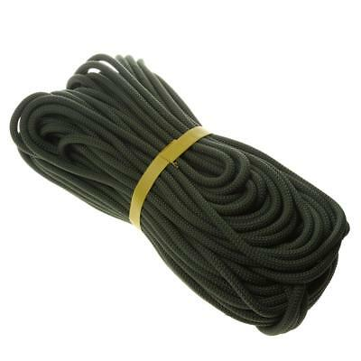 40 Meters 8mm Static Rappel ROPE Response Rescue Climbing Abseiling Arborist