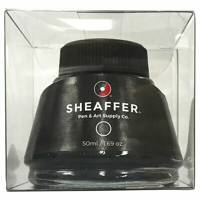 Sheaffer Fountain Pen Bottled Ink 50ml Black