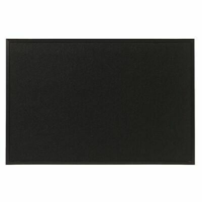 Otto Timber Felt Noticeboard 60 x 90cm Black