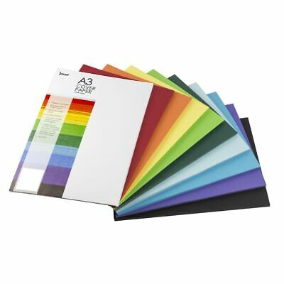 Jasart A3 Cover Paper Assorted Colours 500 Sheets