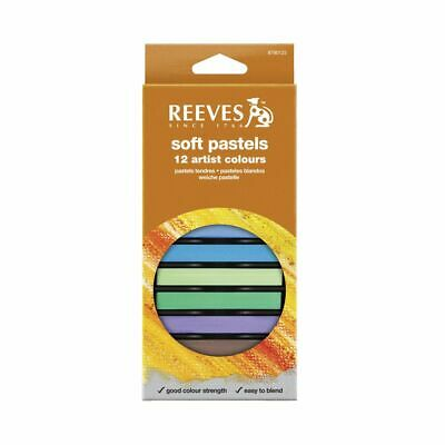 Reeves Soft Pastels 12 Pack