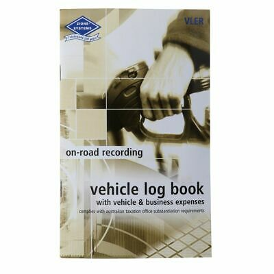 Zions Pocket Vehicle Log and Expenses Record Book