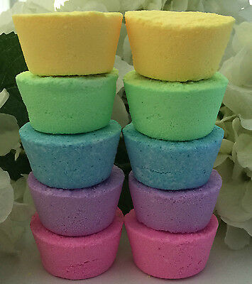 Aromatherapy Bath Bomb Fizzies  with Coconut Oil PURE,GENTLE & ADDICTIVE! (10)