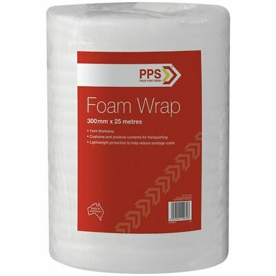 PPS 300mm x 25m Foam Wrap