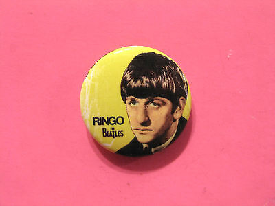 New Official Beatles Button  Badge Pin Official Uk Made Ringo