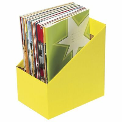Marbig Book Box Large Yellow 5 Pack