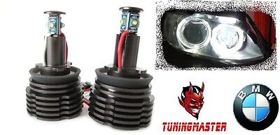 kit 2 angel eyes conversione Led 20W  H8 BMW E92 E93 E82 E89 E87 E64 E60 M3 X5