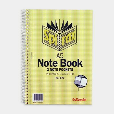 Spirax A5 Notebook 200 Page