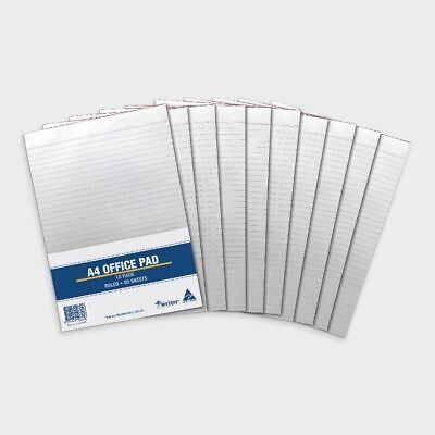Costcutter A4 Ruled Notepad 10 Pack