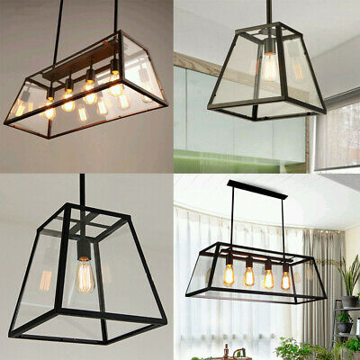 Glass Pendant Light Kitchen Lamp Modern Ceiling Lights