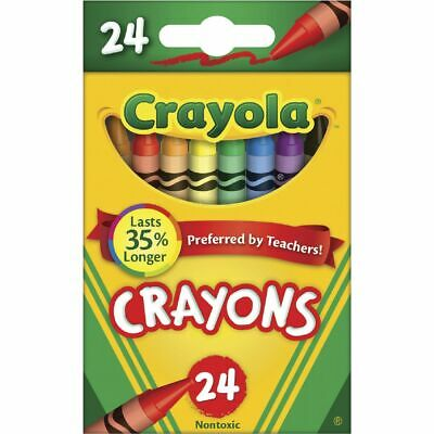 Crayola Crayon Tuck Box 24 Pack