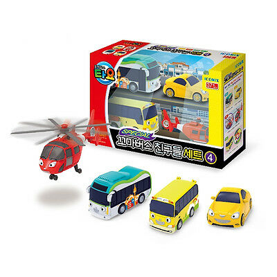 The Little Bus TAYO Special Mini FRIENDS Toy Set No.4 Air Peanut Shine Kinder