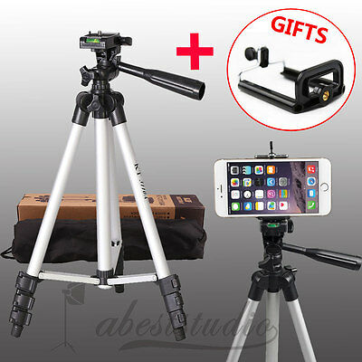 Camera Camcorder Tripod stand for Canon Nikon Sony Fuji Olympus Panasonic iphone