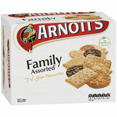 Arnott's Family Assorted Biscuits 1.5kg