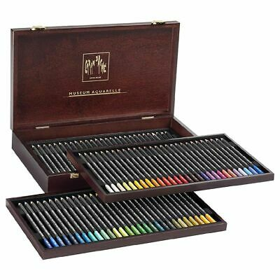 Caran d'Ache Museum Aquarelle Pencils Box 80