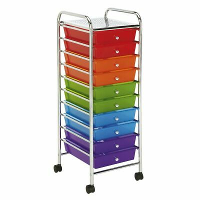 10 Drawer Storage Trolley