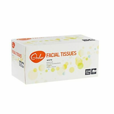 Order 2 Ply Facial Tissues 224 Sheets