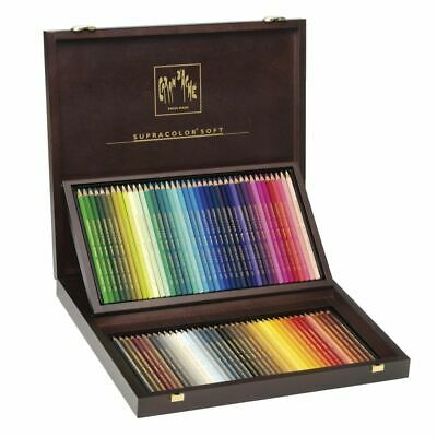 Caran d'Ache Supracolor Soft Aquarelle Pencils Box 80