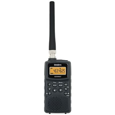 NEW Uniden Scanner Mobile Radio Scanner Black Colour EZ130XLT UHF Scanners