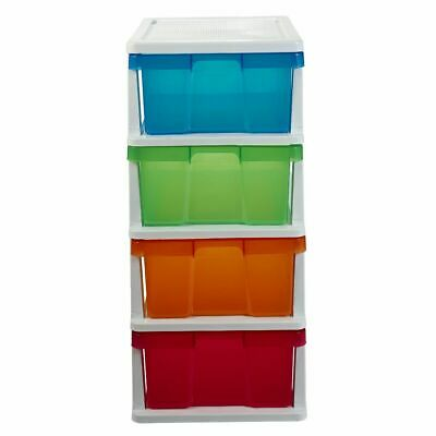J.Burrows 4 Drawer Storage Cabinet Colour
