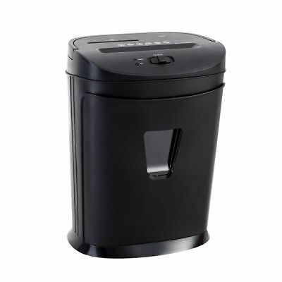 NEW Lowell Paper Shredder Cross Cut Shredder Black 4mm x 35mm Cut Size S289