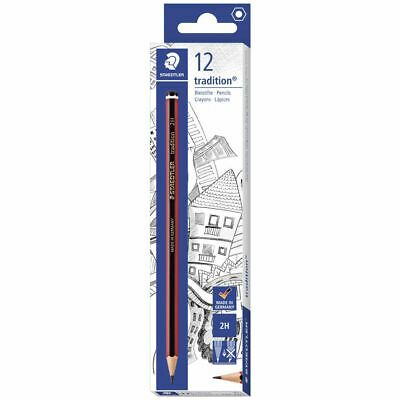 Staedtler Tradition Pencils 2H 12 Pack