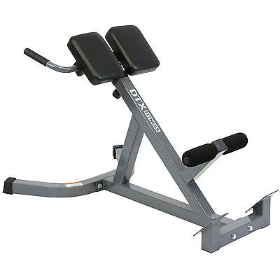 DTX Fitness Back Hyper Extension Exercise Bench Hyperextension Roman Chair Lower